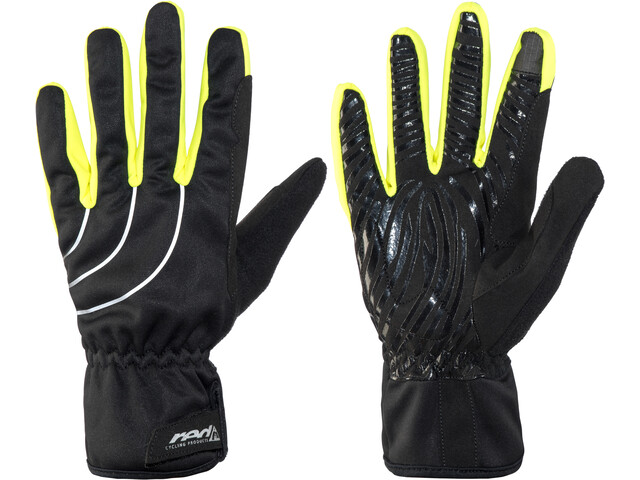 Red Cycling Products Winter Race Bike Gloves black-neonyellow